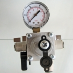 Secondary Regulator with gauge